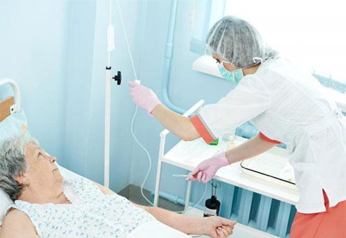 Проведение внутривенной терапии