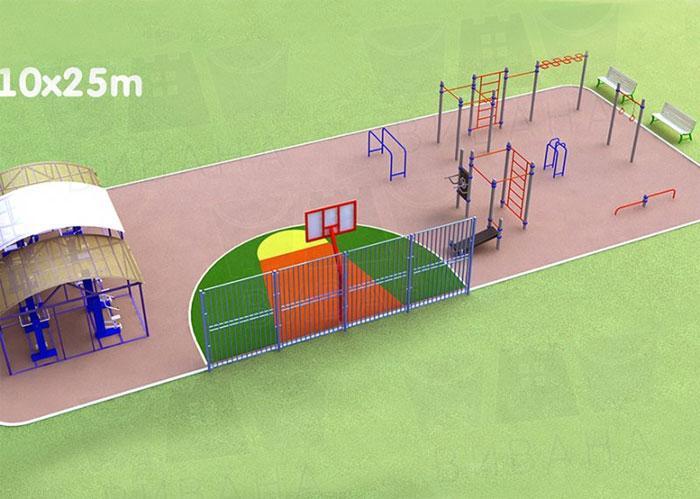 Здоровый взгляд на проектирование детской площадки